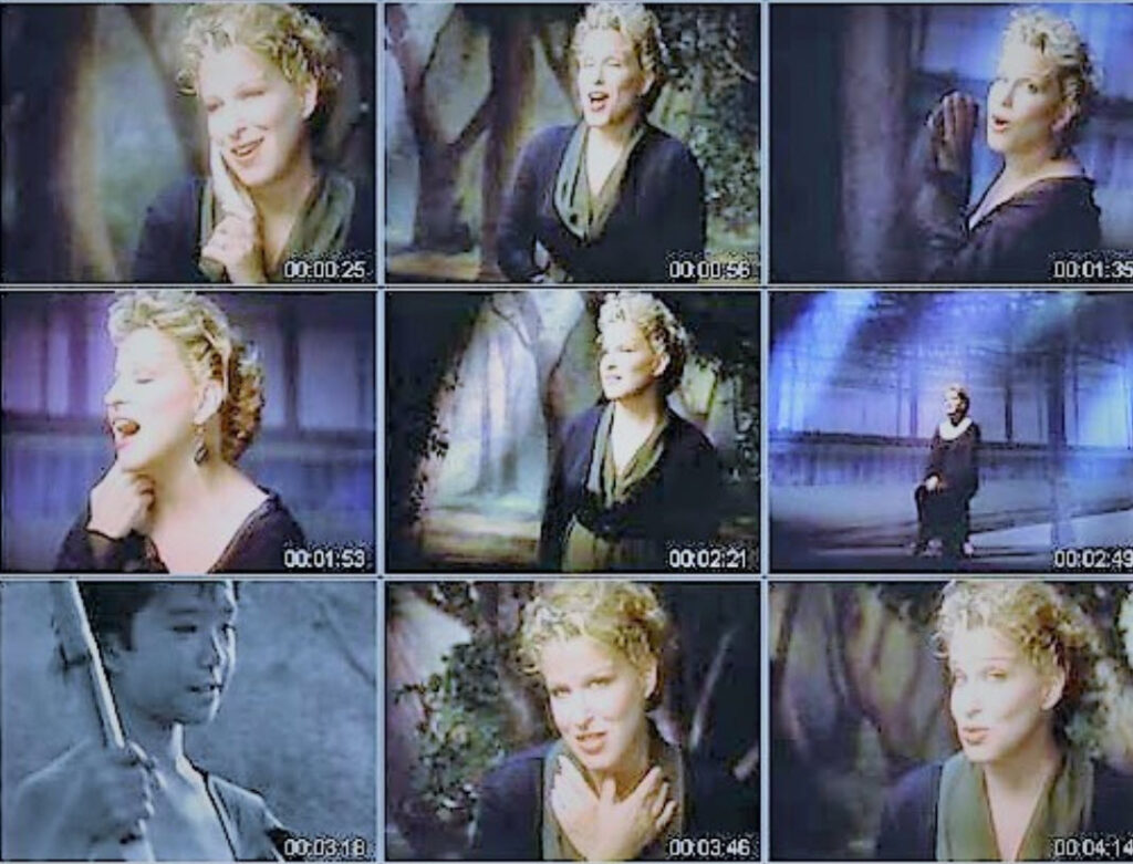 Video: Bette Midler Restored Video Of From A Distance On Top Of The Pops 1991