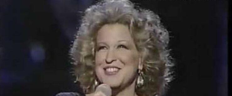 Bette Midler - MLK Tribute - 1985