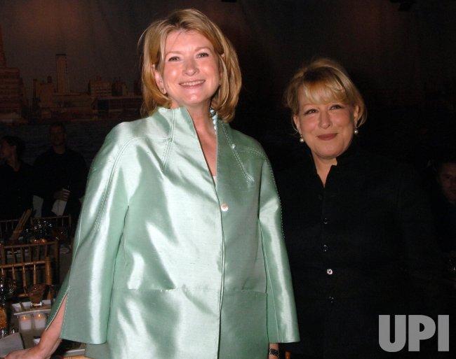 Martha Stewart & Bette Midler