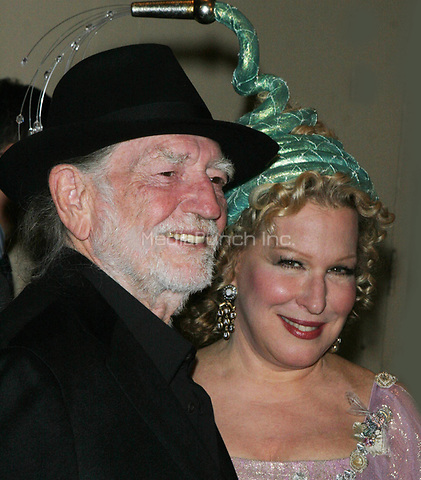 Bette Midler and Willie Nelson
