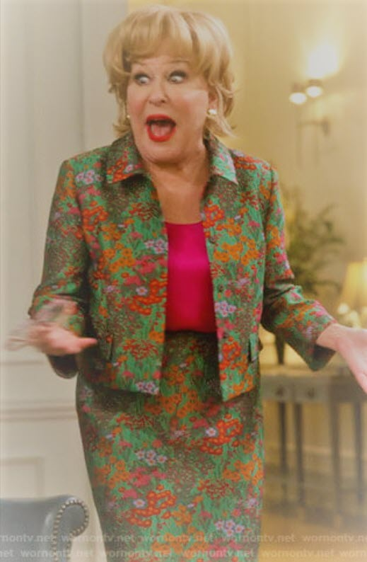 Bette Midler in The Politician