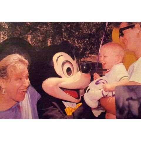 Bette Midler & Family at DisneyWorld A Long Time To Go