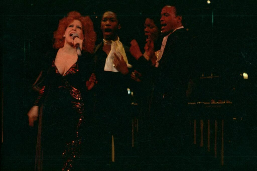 Bette Midler sings Gone At Last in Clams On The Half Shell Revue