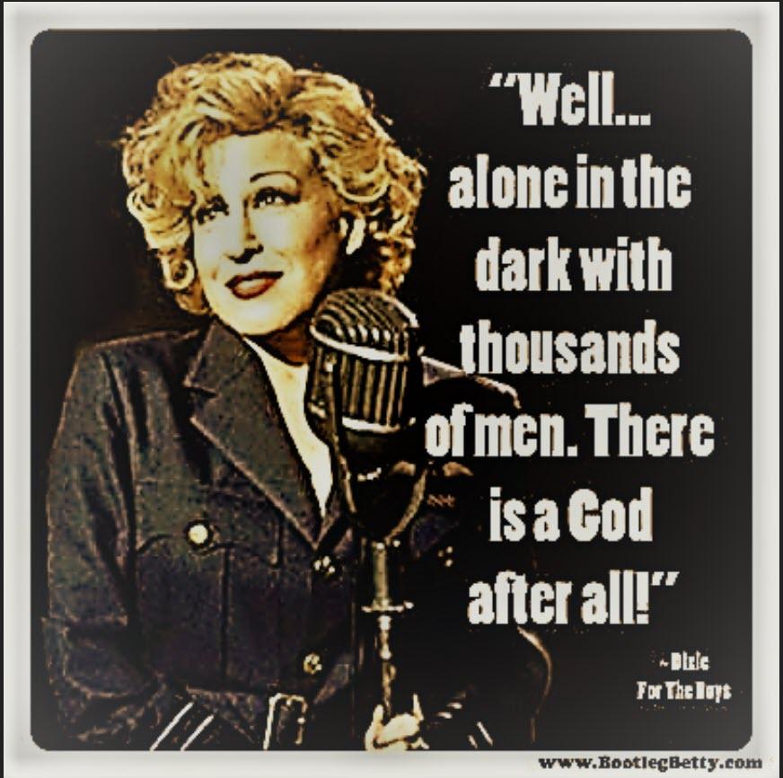 Bette Midler As Dixie Leonard