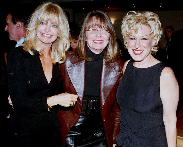 Goldie Hawn, Diane Keaton, & Bette Midler