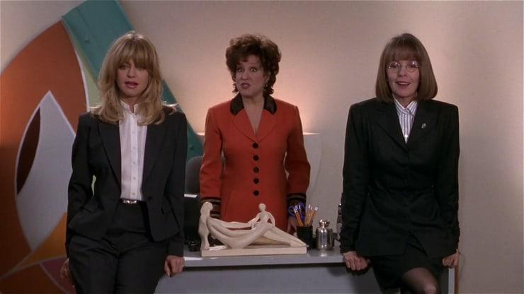 Goldie Hawn, Bette Midler, and Diane Keaton