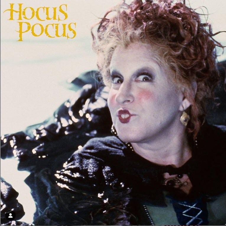 Bette Midler in Hocus Pocus