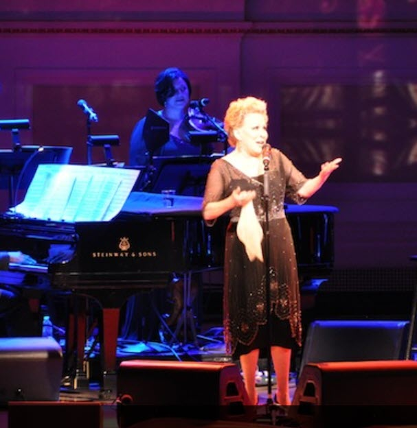 Bette Midler at Carnegie Hall 120th Anniversary