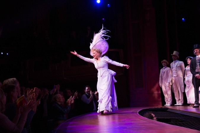 """Bette Midler in the records shattering hit on Broadway, """"Hello Dolly"""""""