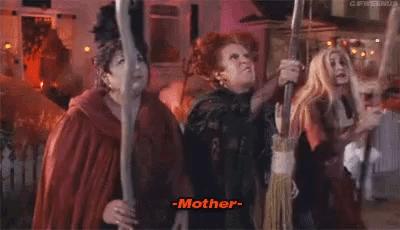 Bette Midler, Hocus Pocus, Mother