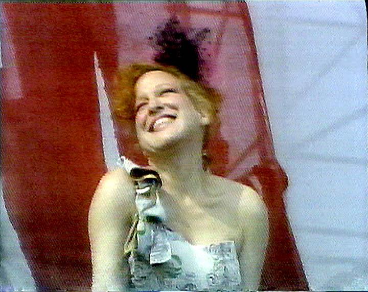 Bette Midler at Live Aid