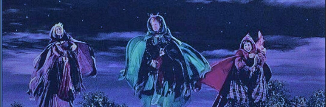 The Sanderson Sisters Fly!