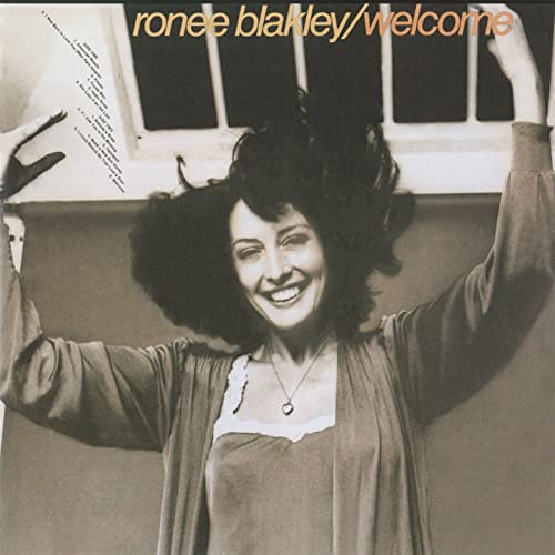 Ronee Blakley on the cover of her second album