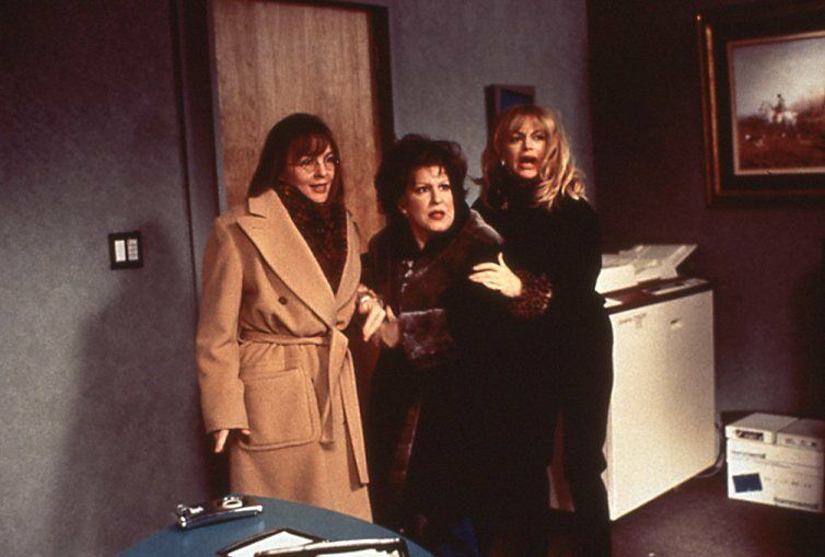 Diane Keaton, Bette Midler, and Goldie Hawn in The First Wives Club