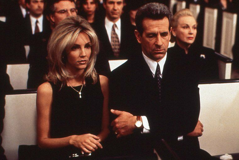 Heather Locklear and James Naughton in The First Wives Club