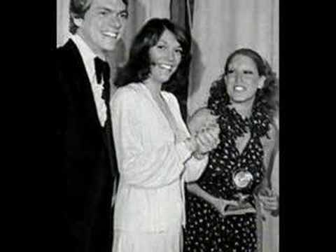 Richard & Karen Carpenter with Bette Midler at the  Grammys 1973