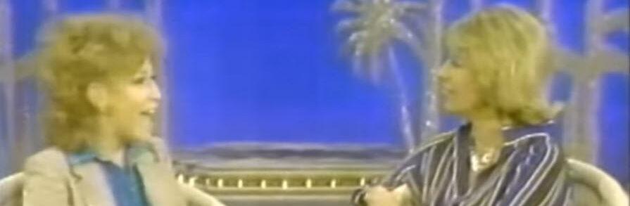 Bette Midler and Dinah Shore Dec 7, 1977